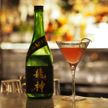 Saké cocktail Ryûjin Dragon God Le Meurice de Frédéric Despins