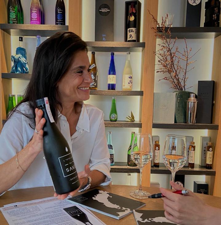 Se former au saké japonais avec Maryam Masure