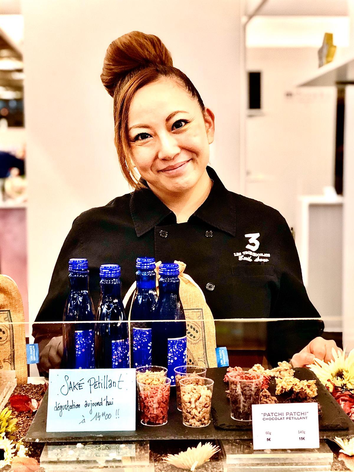 Participation au Salon du Chocolat Atelier du saké