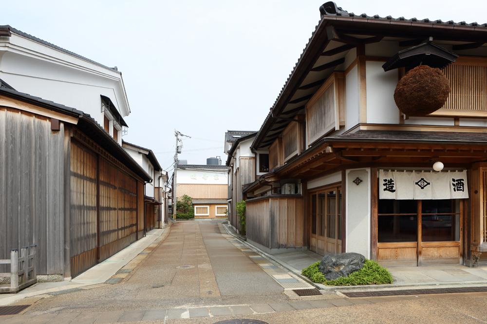 La maison de saké Masuda Shuzô Ten