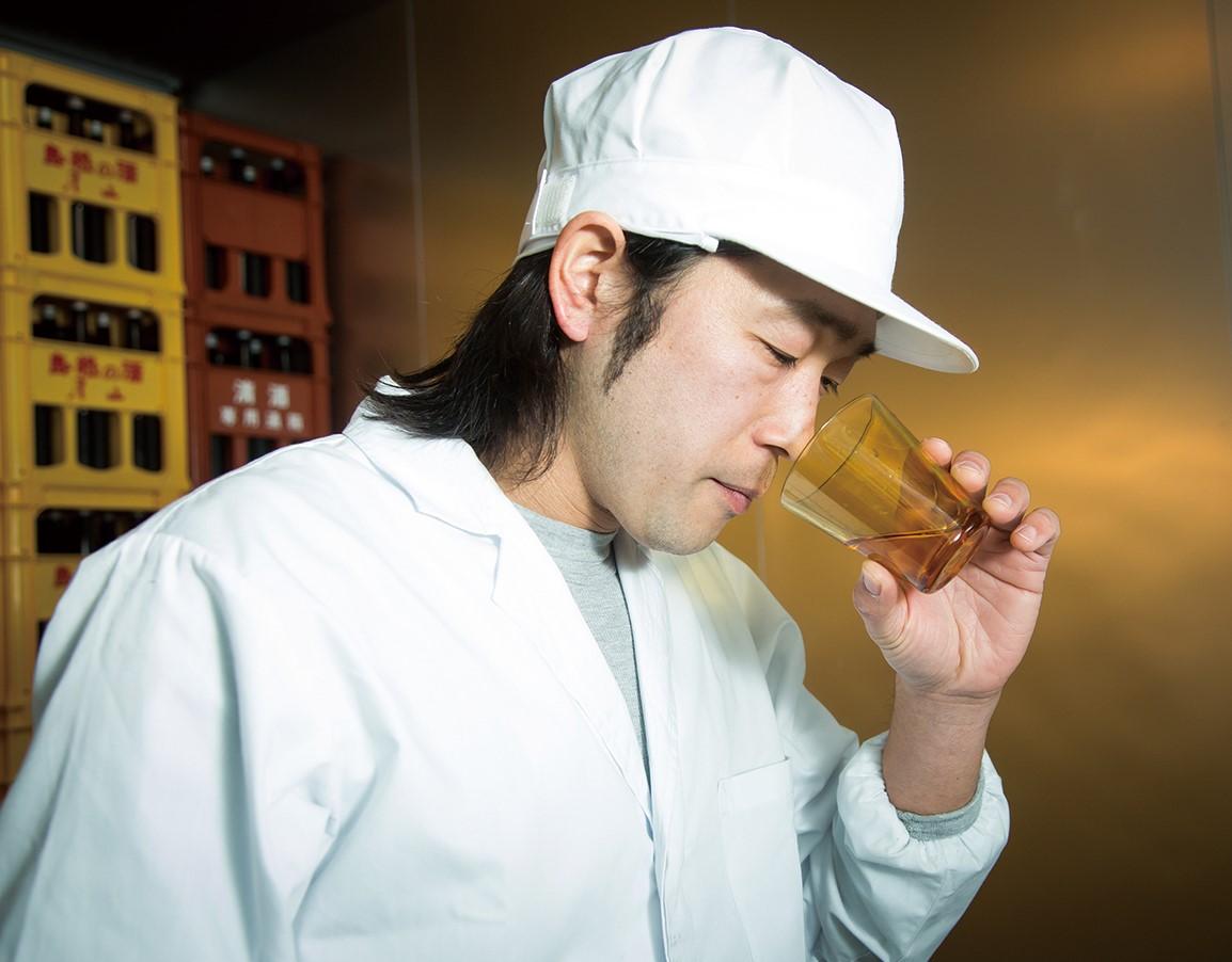 La maison de saké YOSHIDA SHUZO