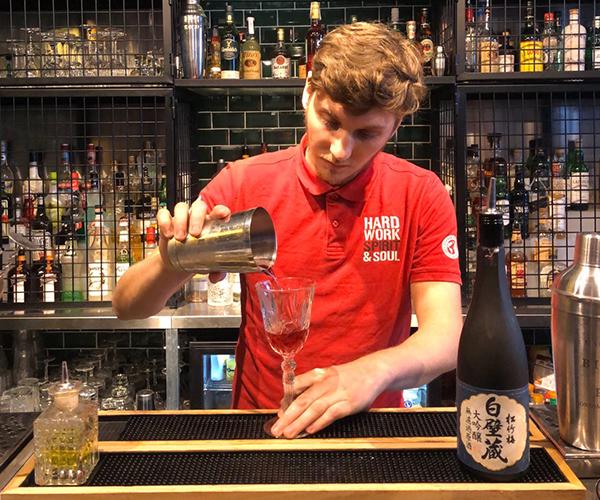 Formation saké à L'European Bartender School