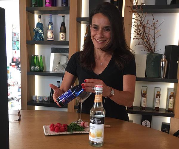 Création de cocktail d'été avec Maryam Masure et Chloe Cazaux de Otsukimi