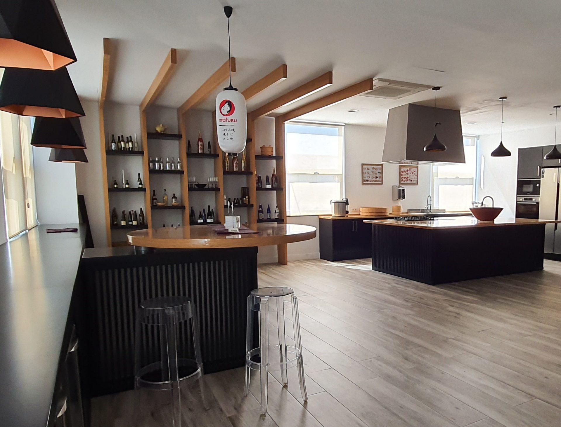 Déguster et se former au saké japonais dans le showroom à Madrid