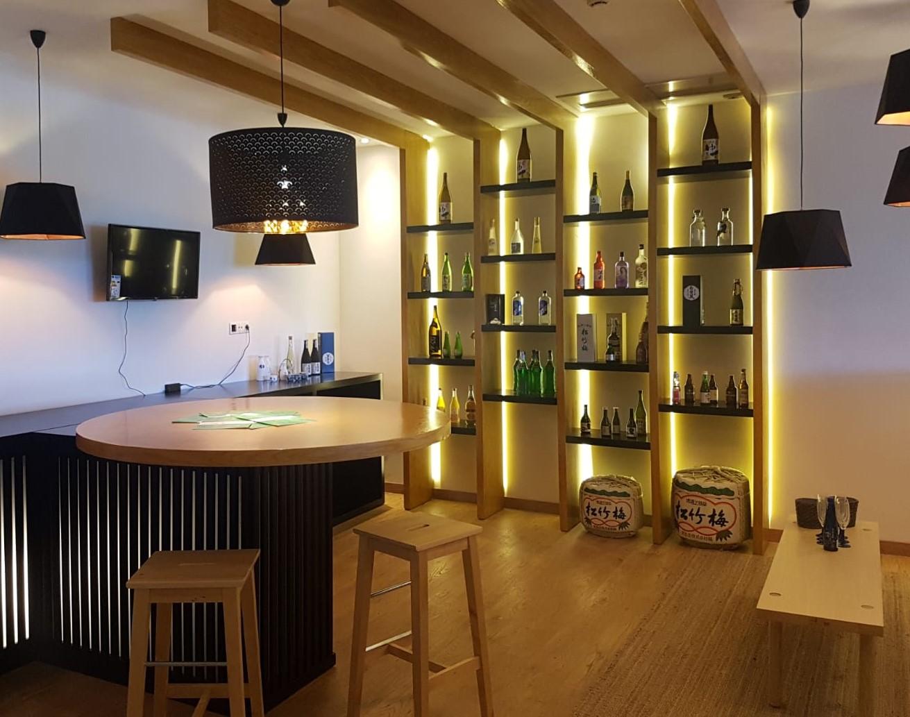 Déguster et se former au saké japonais dans le showroom à Lisbonne