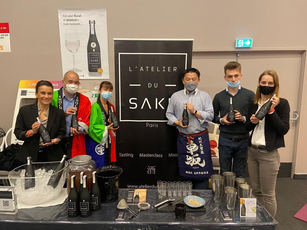 Salon du saké avec l'Atelier du saké et cocktail saké